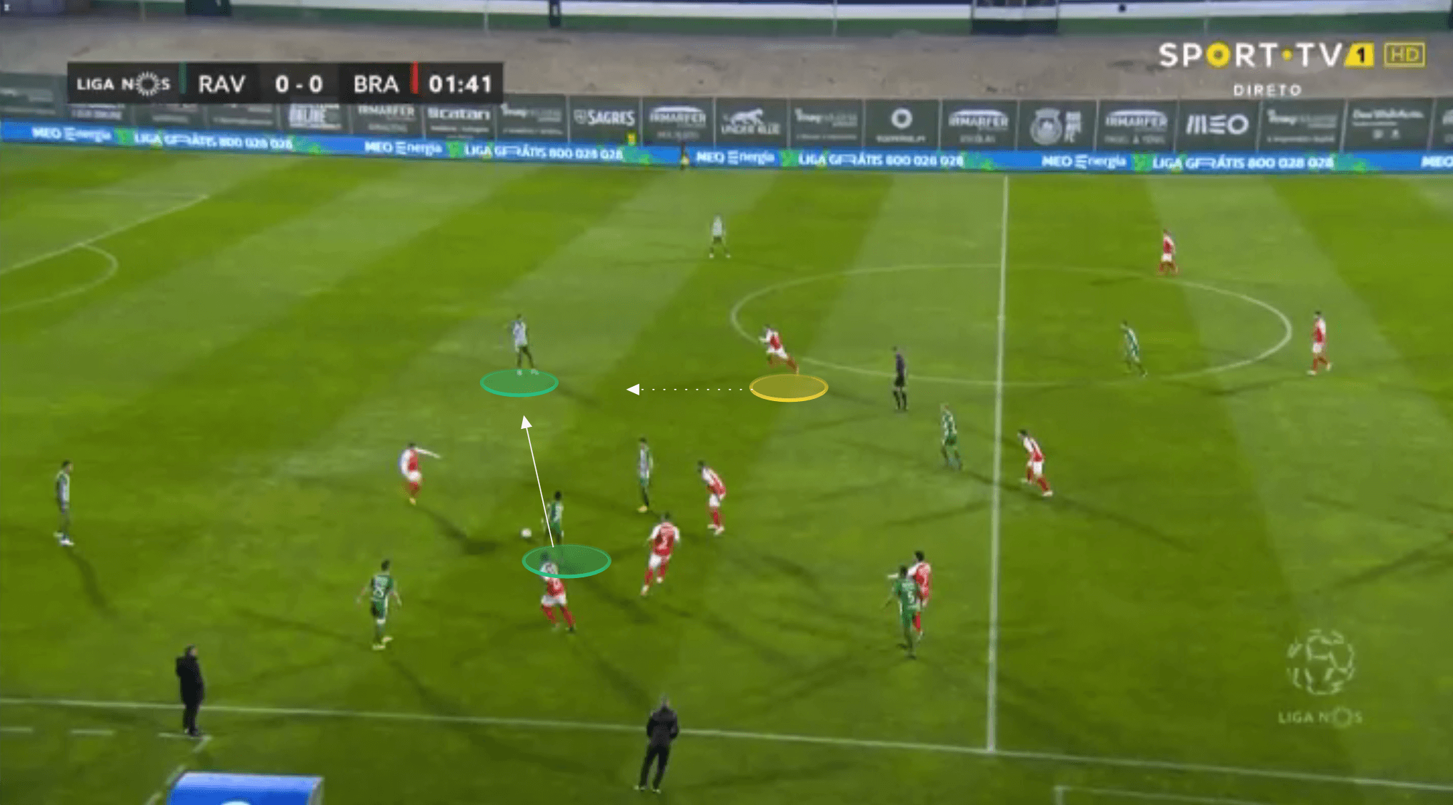 SC Braga: A formationless side? - tactical analysis tactics