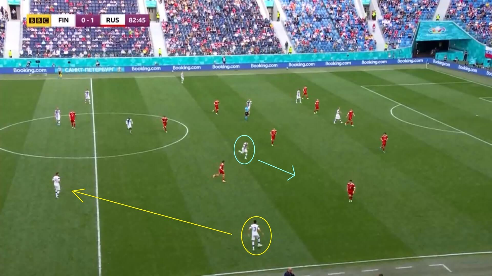 EURO 2020: Robin Lod with Finland - scout report - tactical analysis tactics