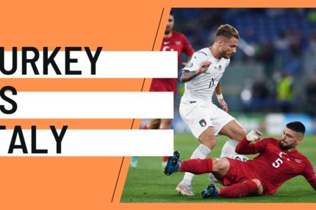 EURO 2020 Turkey Italy analysis tactics statistics
