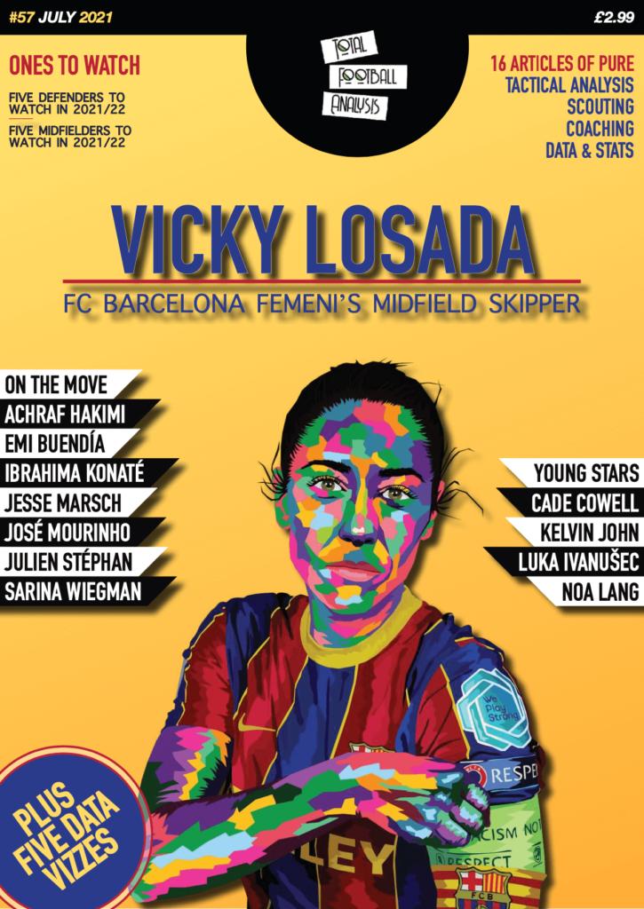 Total Football Analysis Magazine #57 July 2021