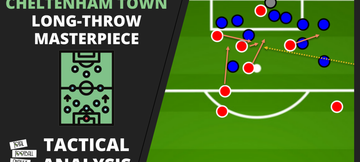 Cheltenham Town tactics analysis throw-ins video