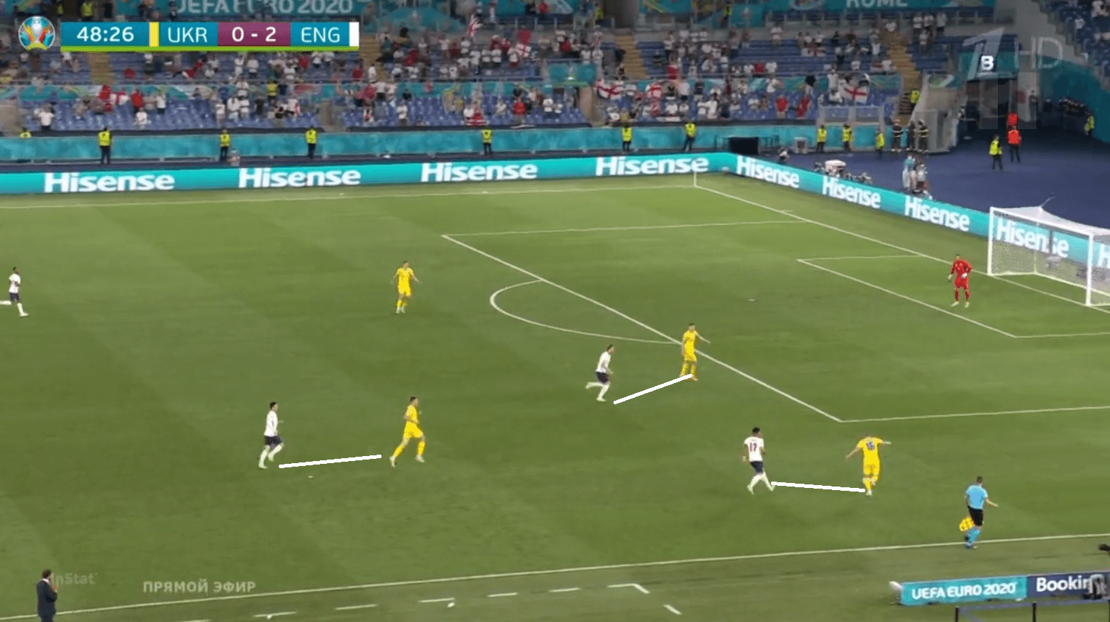 Euro 2020: Wide players key as England beat Ukraine to book final semi-final spot - tactical analysis tactics