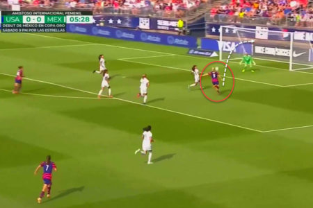 Lindsey Horan at Portland Thorns and USWNT 2021 - scout report - tactical analysis tactics
