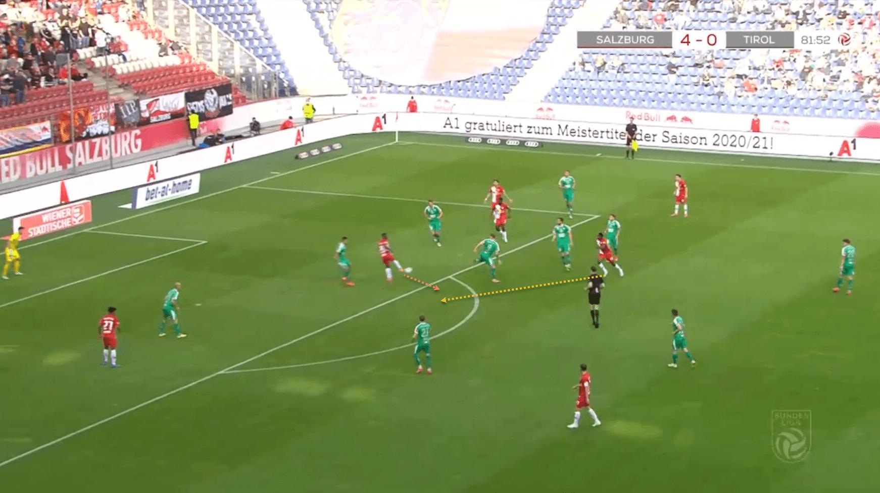 Patson Daka at Leicester City 2021/22 - scout report - tactical analysis - tactics