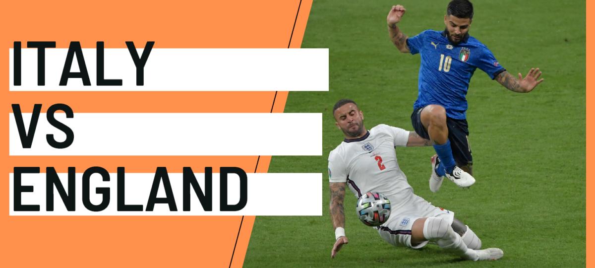 Italy England EURO 2020 analytics statistics