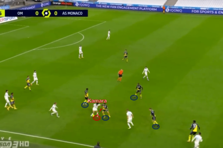 Boubacar Kamara in the Premier League 2021/22 - scout report - tactical analysis tactics