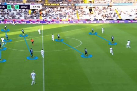 Belgian Super Cup 2021: Club Brugge vs Genk - tactical analysis - tactics