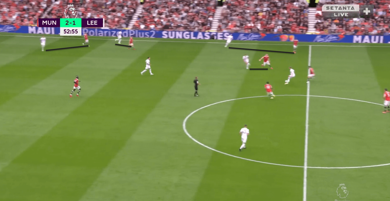 How Manchester United dismantled Leeds' defensive system yet again - tactical analysis tactics