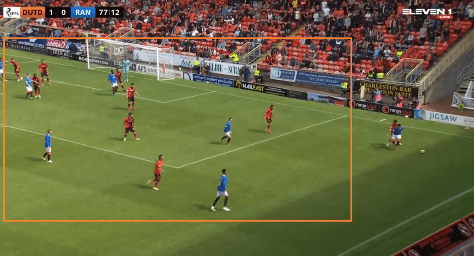 2021/22 Scottish Premiership: Dundee United's stoic defending ends Rangers' historic unbeaten run - tactical analysis tactics