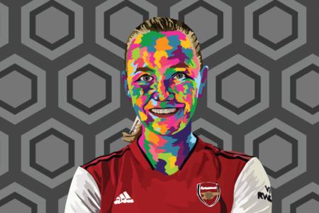 Frida Maanum at Arsenal Women 2021/2022 - scout report - tactical analysis tactics