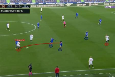 Jules Koundé at Chelsea 2021/22 - scout report - tactical analysis tactics