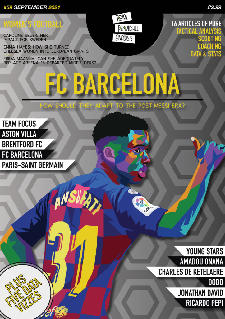Total Football Analysis Magazine #59 September 2021