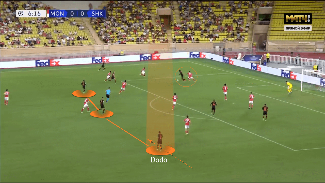 Dodo at Shakhtar Donetsk 2021/22 - scout report - tactical analysis - tactics
