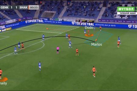 UEFA Champions League 2021/22: Genk vs Shakhtar - tactical analysis -tactics