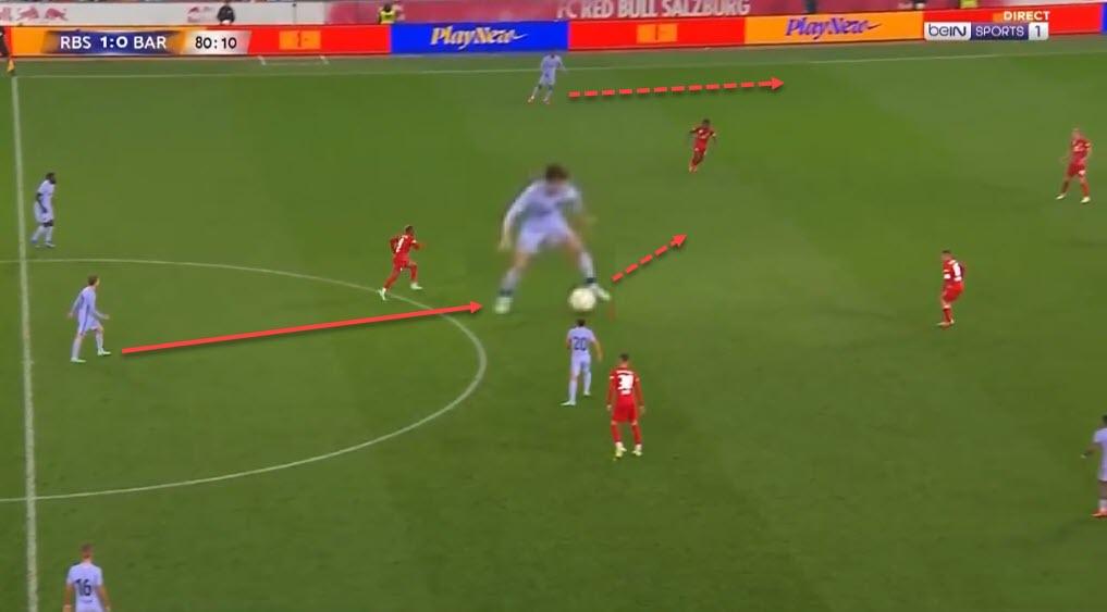 Riqui Puig 2021/22 - scout report - tactical analysis - tactics