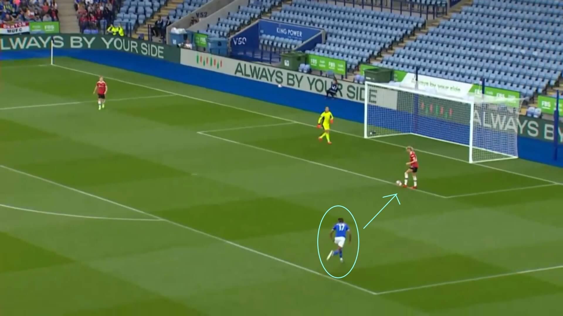 FAWSL 2021/2022: Leicester City Women v Manchester United Women - tactical analysis tactics