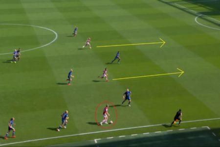 FAWSL 2021/2022: Arsenal Women v Chelsea Women - tactical analysis tactics