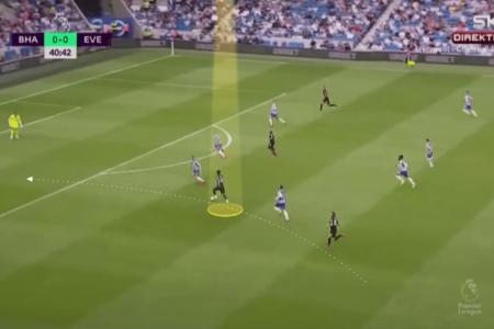 EPL 2021/22: Demarai Gray at Everton - scout report-tactical analysis tactics