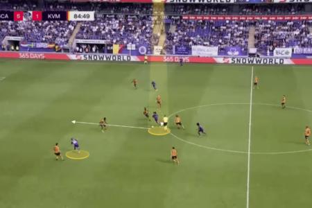 Bundesliga 2021/22: Joshua Zirkzee at Anderlecht - scout report tactical analysis tactics