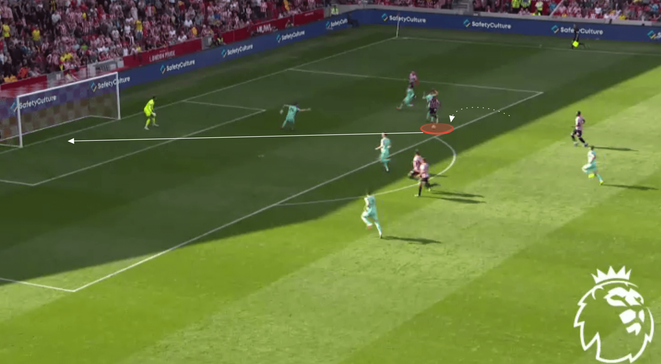 Premier League 2021/22: Bryan Mbeumo at Brentford - scout report tactical analysis tactics