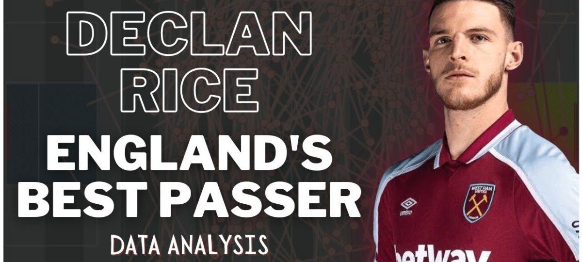 Rice West Ham pass stats Premier League