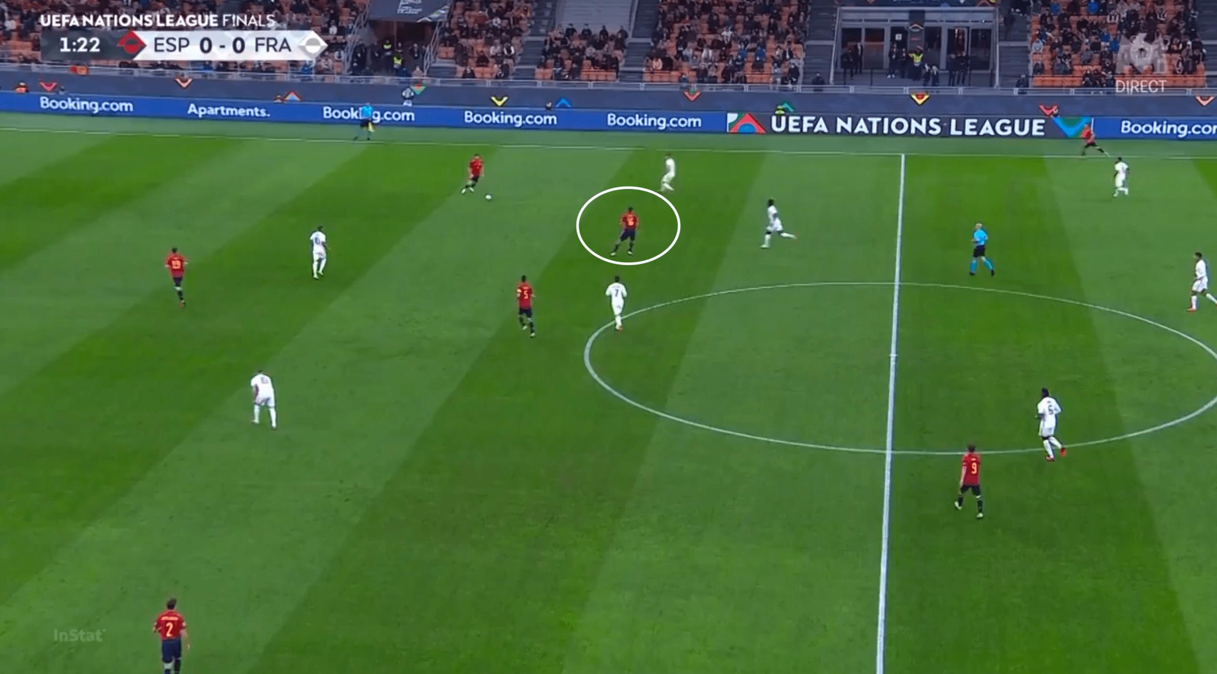 UEFA Nations League 2021/22: France's individual excellence triumphs over Enrique's Spain - tactical analysis