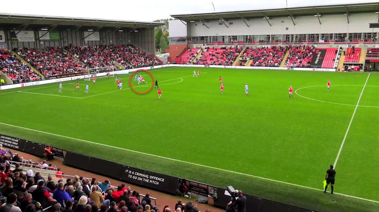 FAWSL 2021/2022: Manchester United Women vs Manchester City Women - tactical analysis tactics
