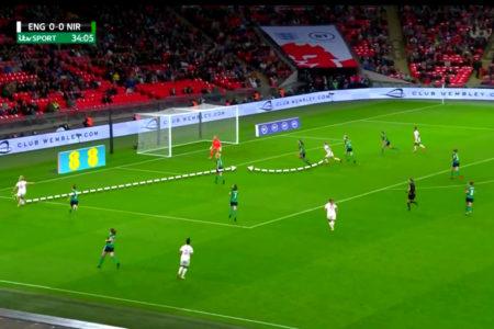 FIFA Women's World Cup 2023 Qualifiers: England vs Northern Ireland - tactical analysis tactics