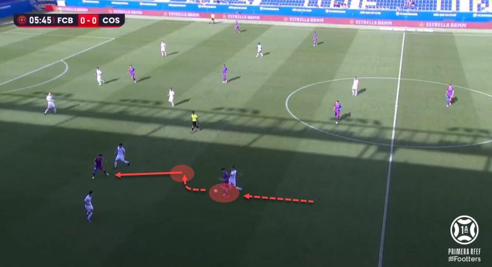 Mika Marmol 2021/22 - scout report - tactical analysis - tactics