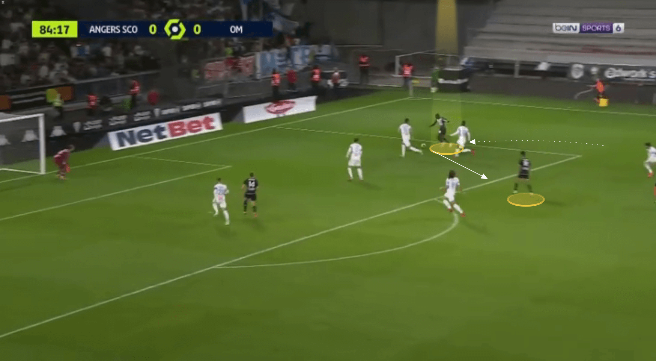 Ligue 1 2021/22: Mohamed Ali Cho at Angers - scout report tactical analysis tactics