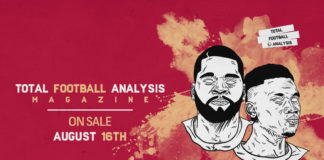 Total Football Analysis Magazine #12: August 2019 Subscription