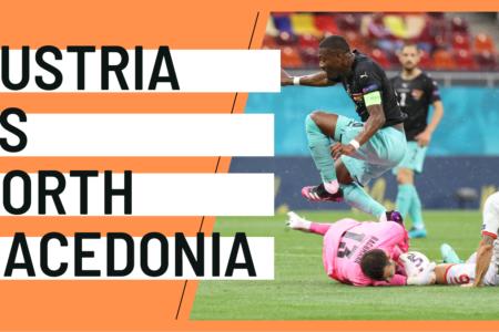 Austria North Macedonia EURO 2020 analytics statistics