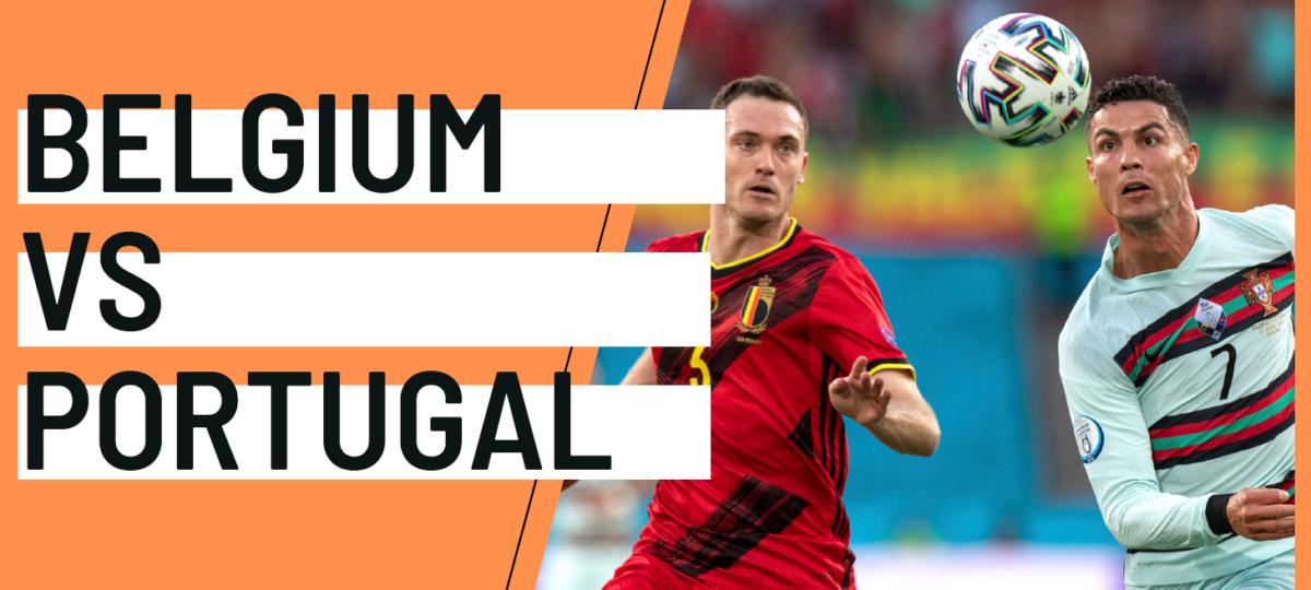 EURO 2020 analytics statistics Belgium Portugal