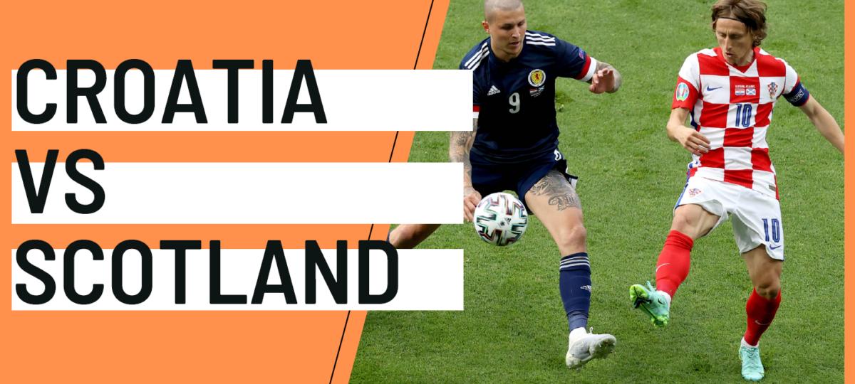 Croatia Scotland EURO 2020 analytics statistics