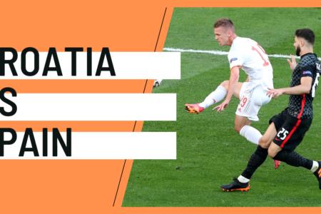 Croatia Spain EURO 2020 analytics statistics