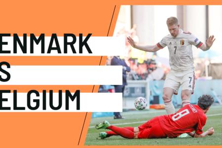 Denmark Belgium EURO 2020 analytics statistics