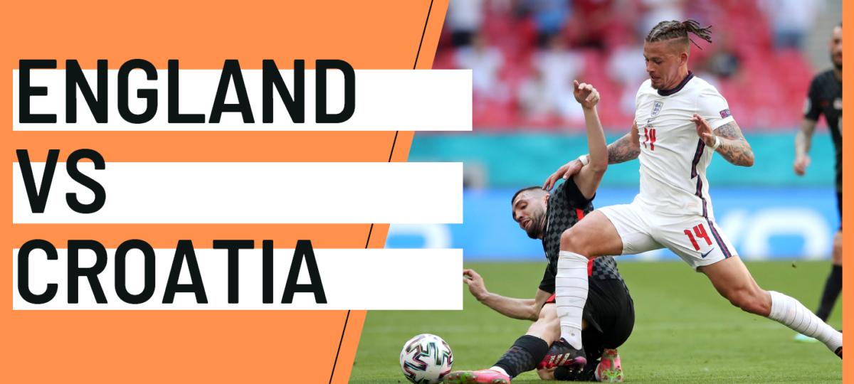 England Croatia EURO 2020 analytics statistics