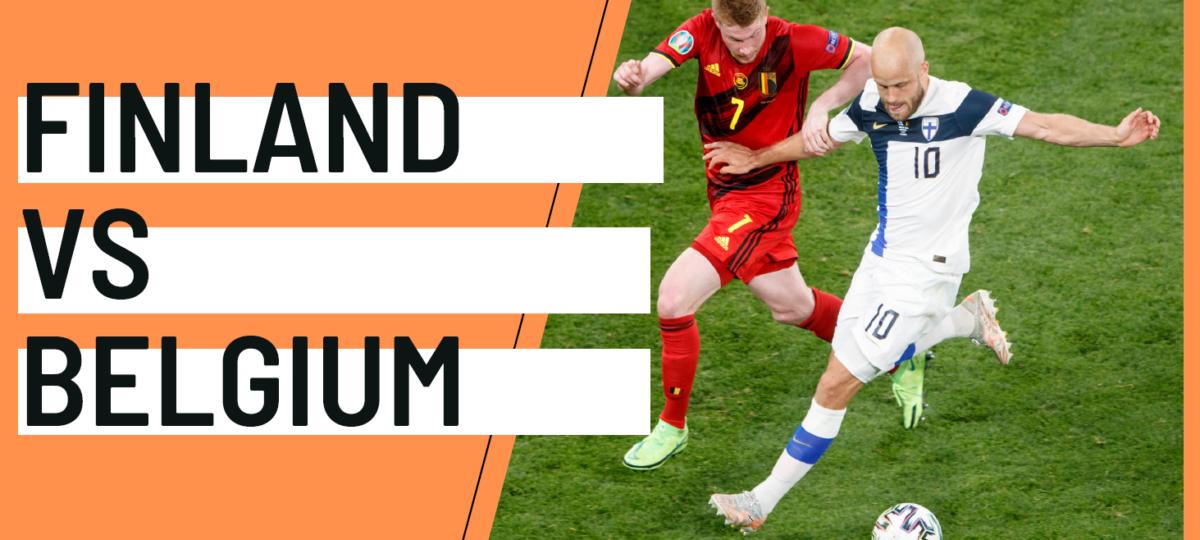 Finland Belgium EURO 2020 analytics statistics