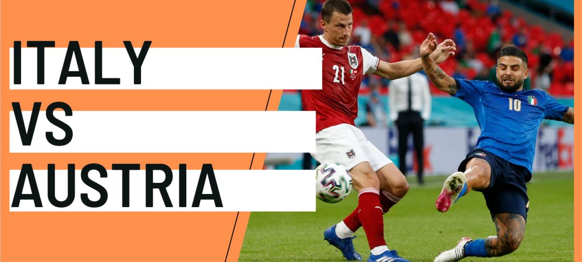 Italy Austria analytics statistics EURO 2020