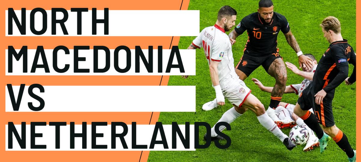 North Macedonia Netherlands EURO 2020 analytics statistics