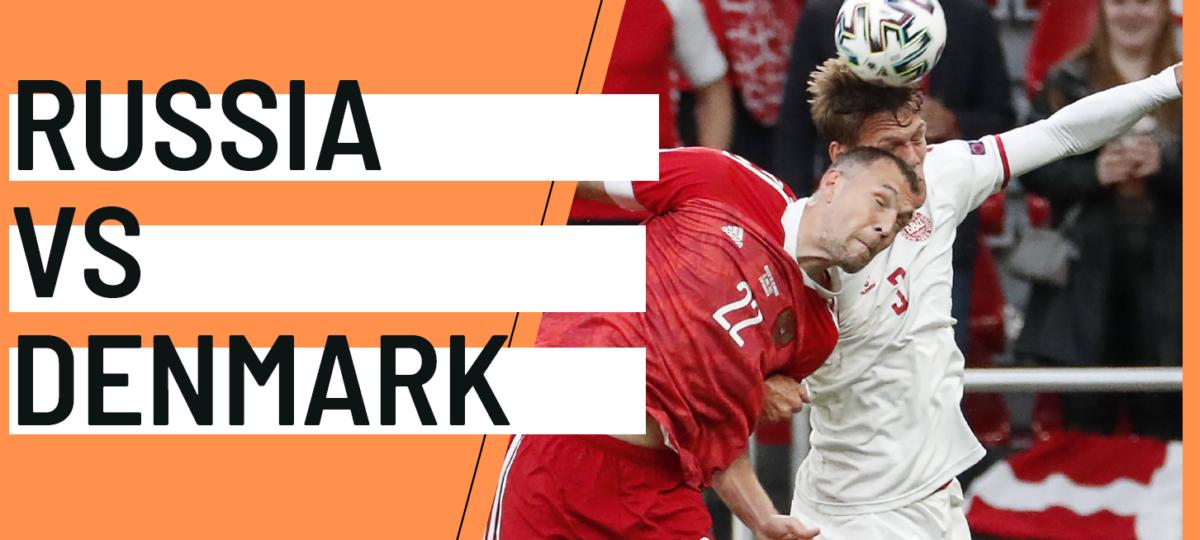 Russia Denmark EURO 2020 analytics statistics