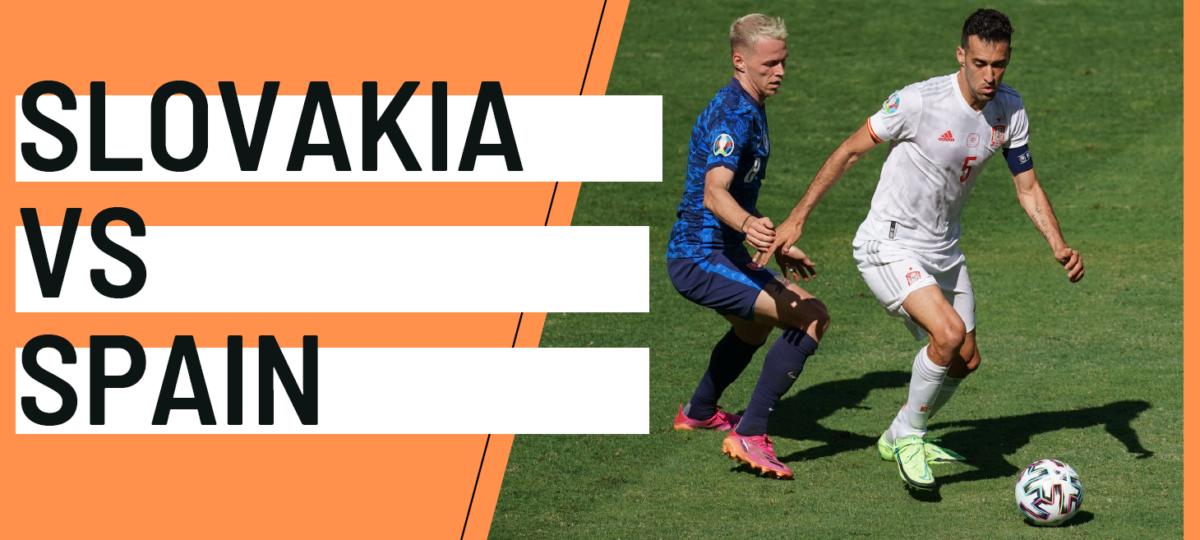 Slovakia Spain EURO 2020 analytics statistics