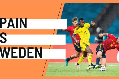 Spain Sweden EURO 2020 analytics statistics