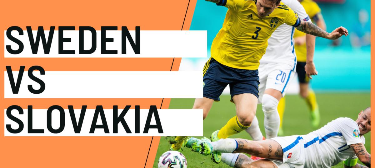 Sweden Slovakia EURO 2020 analytics statistics