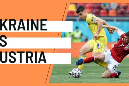 Ukraine Austria EURO 2020 analytics statistics