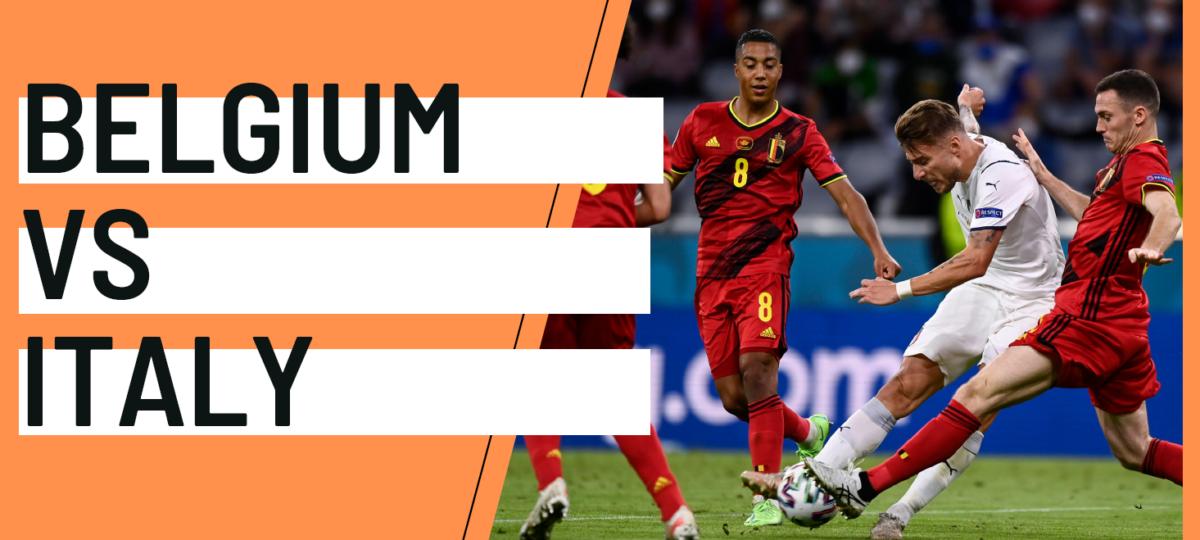 Belgium Italy EURO 2020 analytics statistics