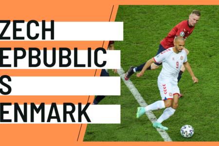 Czech Republic Denmark EURO 2020 analytics statistics