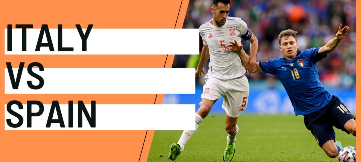 Italy Spain EURO 2020 analytics statistics