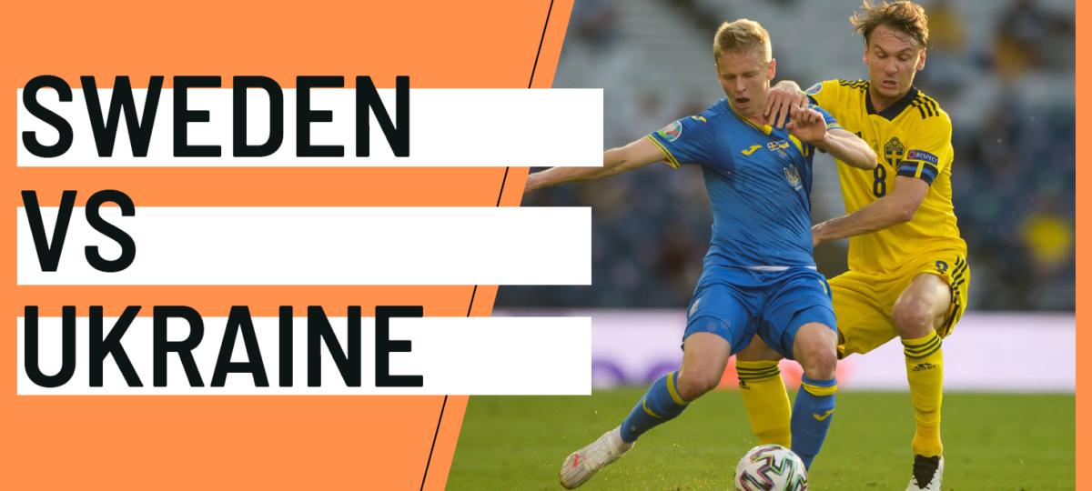 Sweden Ukraine EURO 2020 analytics statistics