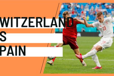 Switzerland Spain EURO 2020 analytics statistics